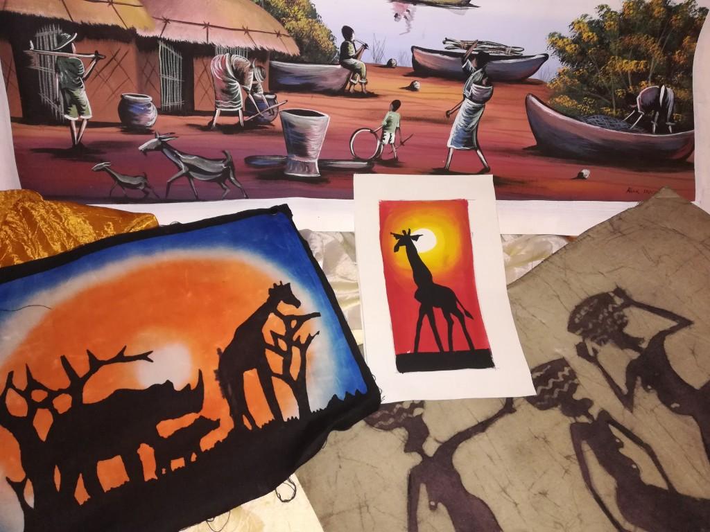Batik dipinti a mano