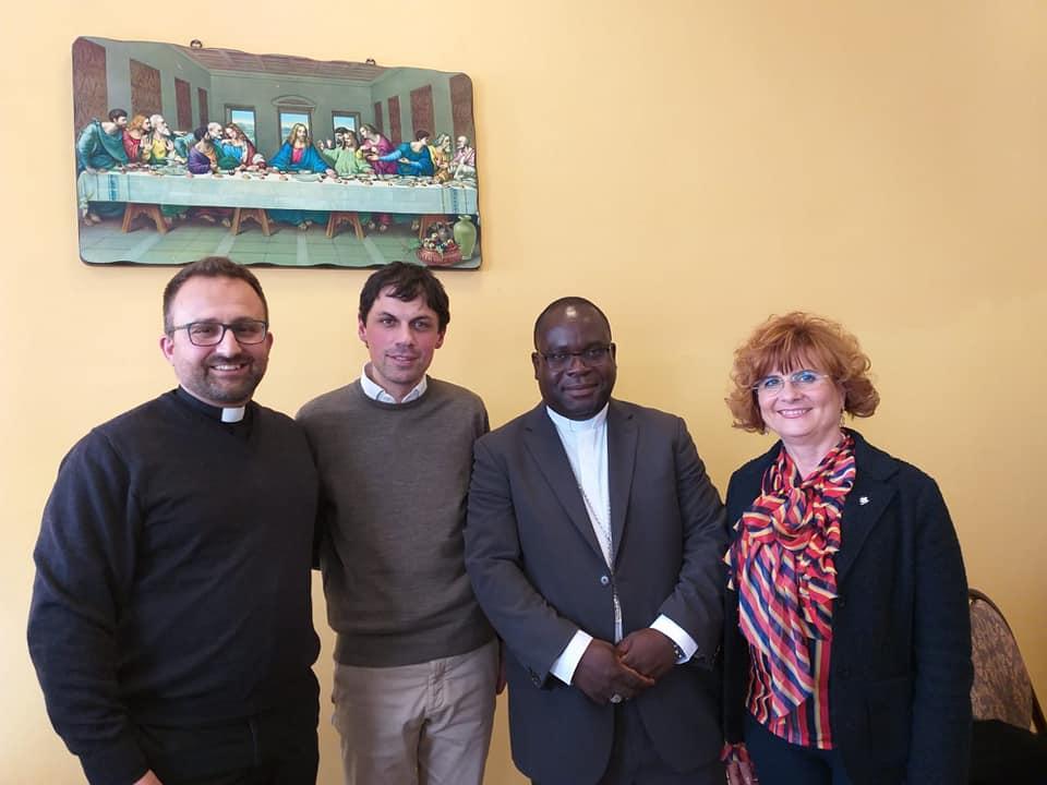 Domenica 3 marzo: Mons. Tambala insieme al sindaco Romizi e all'assessore Cicchi