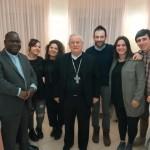 Lunedì 4 marzo: Mons. Tambala insieme al Cardinal Bassetti tra i ragazzi di GiovaniInMissione