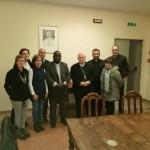 Lunedi 4 marzo: Mons. Tambala con il Cardinal Bassetti e il  Consiglio Amici del Malawi