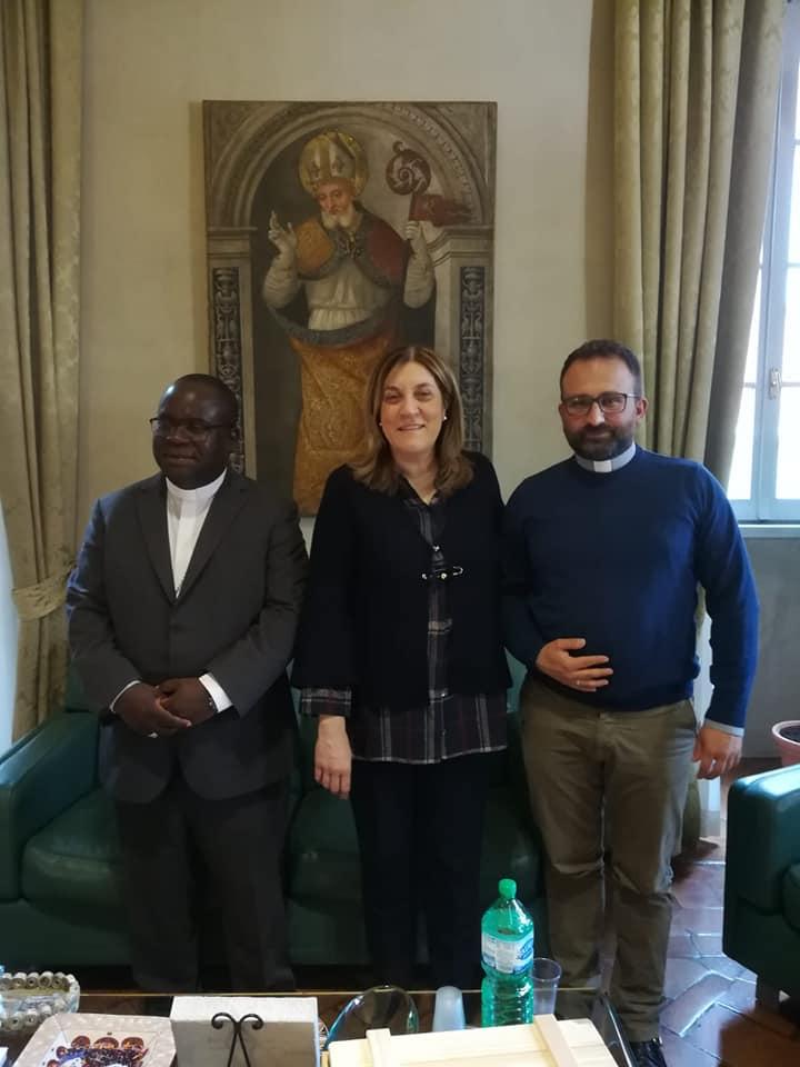 Venerdì 1 marzo: Mons. Tambala visita la presidente Marini