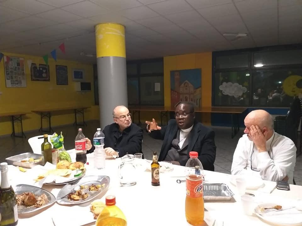 "Venerdì 1 marzo: Cena al centro ""Shalom"""